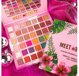 FEBBLE MEET BEAUTY 42 EYESHADOWS & BLUSH PALETTE