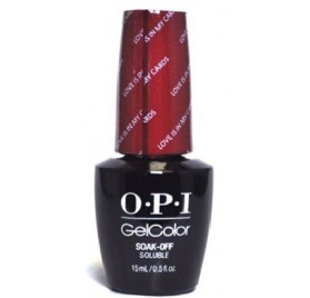 OPI Love Is In My Cards HP G32 15ML
